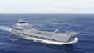 PIRIOU_LCT_50_Landing_Craft_Maroc_RMN_Royal_Morrocan_Navy