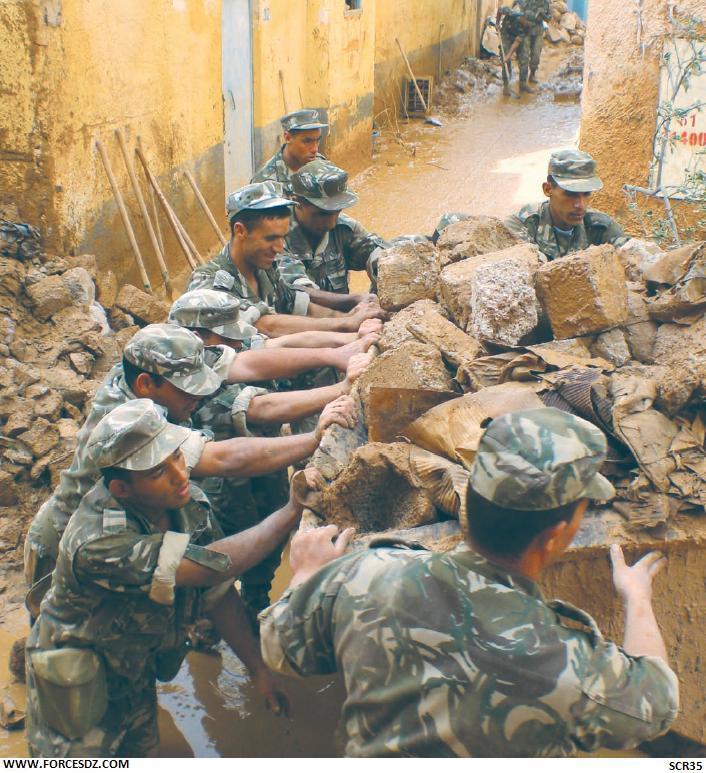 armée innondation