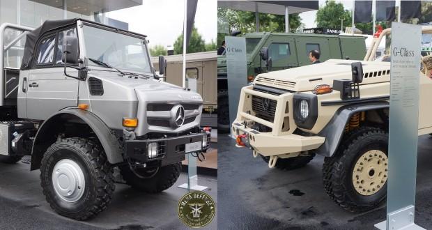 New Mercedez Benz Vehicle For The Algerian Army MENADEFENSE