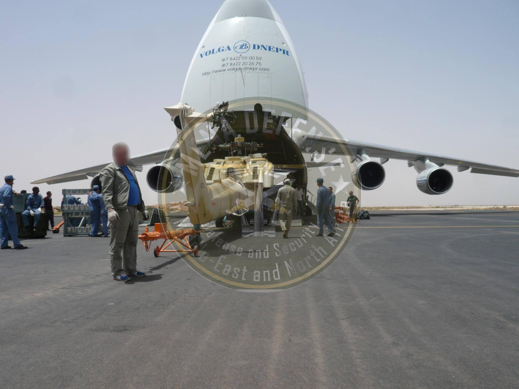 الجزائر تستلم دفعات 42 مروحيات الصياد الليلي [ Mi-28NE/UB ]  Mi28