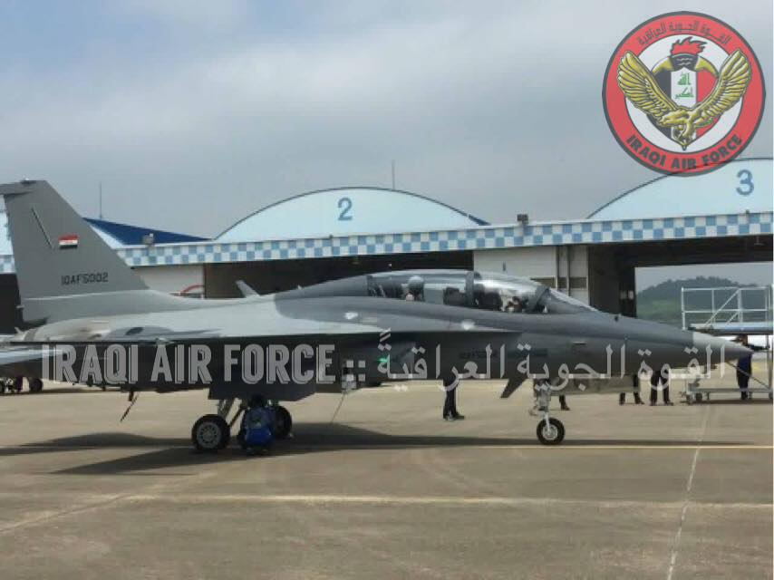 First picture of an iraqi T-50 Golden Eagle - MENADEFENSE