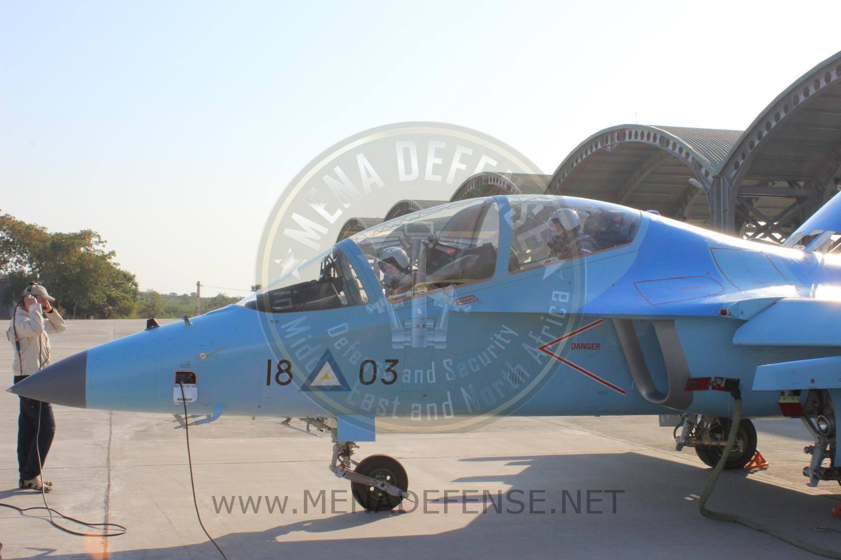 Мьянма получила первые три самолета Як-130 по контракту 2015 года