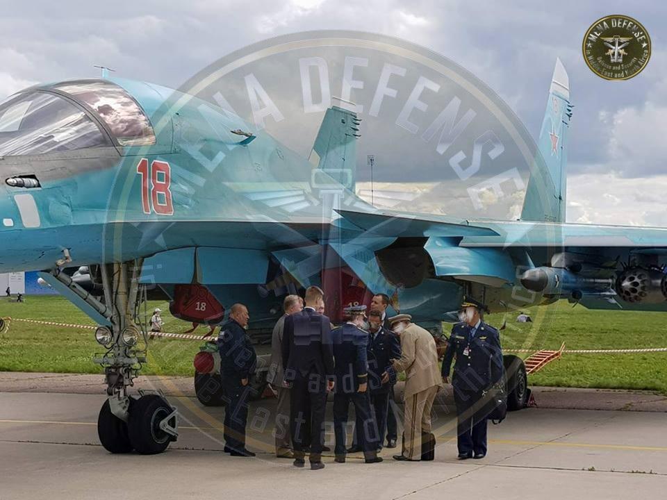 Алжир продолжает проявлять интерес к закупке бомбардировщиков Су-32