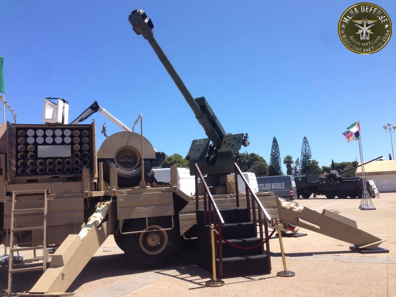 العراق يعيد للخدمه مدفعيه D-30 عيار 122 ملم محموله على الشاحنات  Zetrosd303
