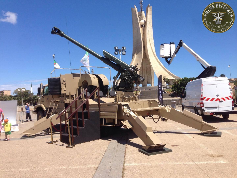 العراق يعيد للخدمه مدفعيه D-30 عيار 122 ملم محموله على الشاحنات  Zetrosd305