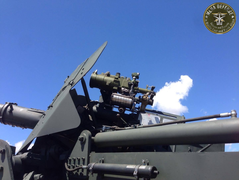 العراق يعيد للخدمه مدفعيه D-30 عيار 122 ملم محموله على الشاحنات  Zetrosm121