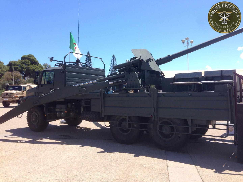 العراق يعيد للخدمه مدفعيه D-30 عيار 122 ملم محموله على الشاحنات  Zetrosm125