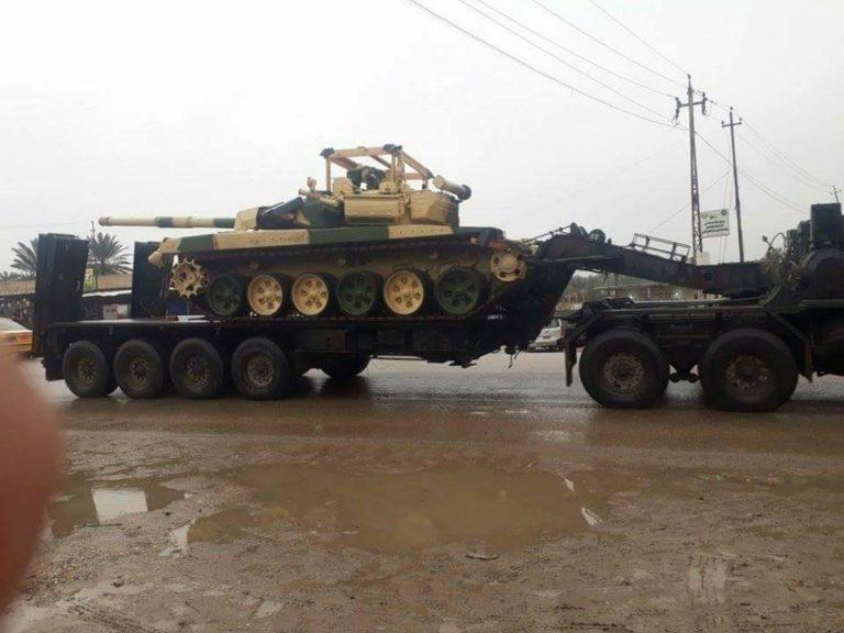 Ирак получил первую партию боевых машин пехоты БМП-3?