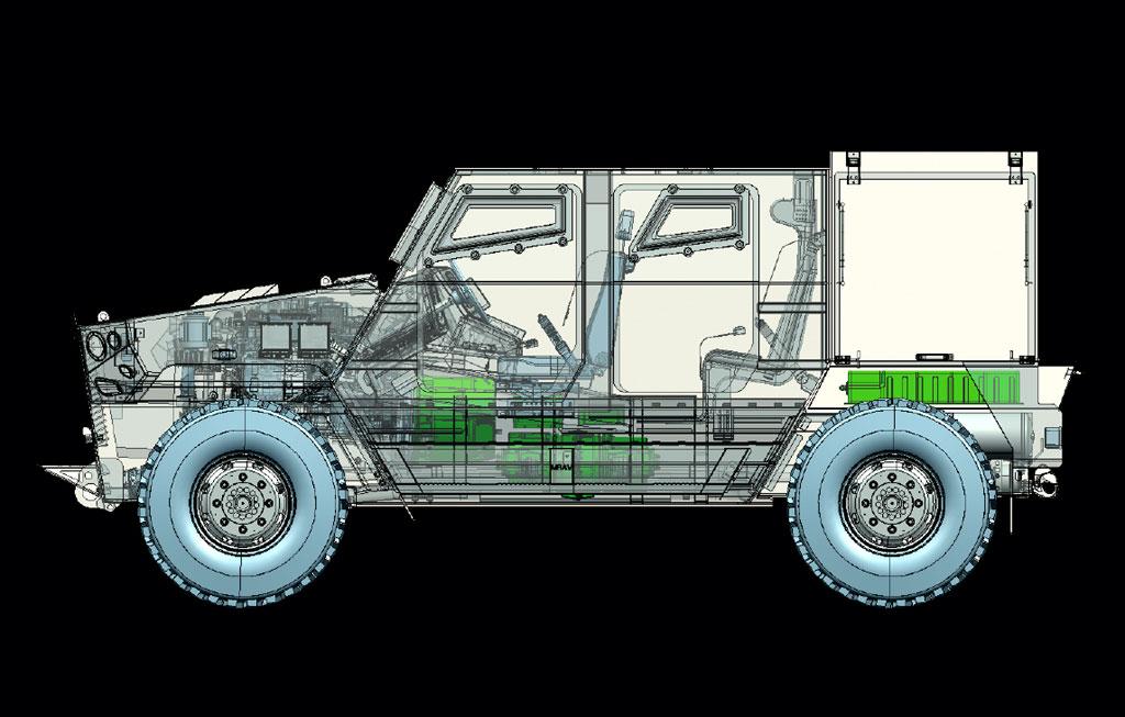 الصناعة العسكرية الجزائرية عربات Nimr(نمر)  - صفحة 12 NIMR-AJBAN-MK2-HYBRID
